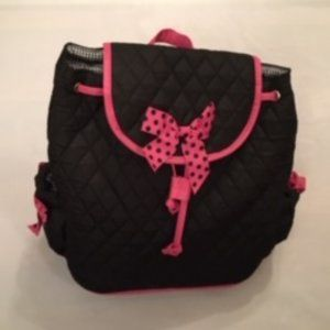 Other - NWT - Pink Polka Dot Padded Backpack